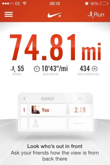 Nike+ Running App