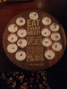 Viva Brazi Meat Card