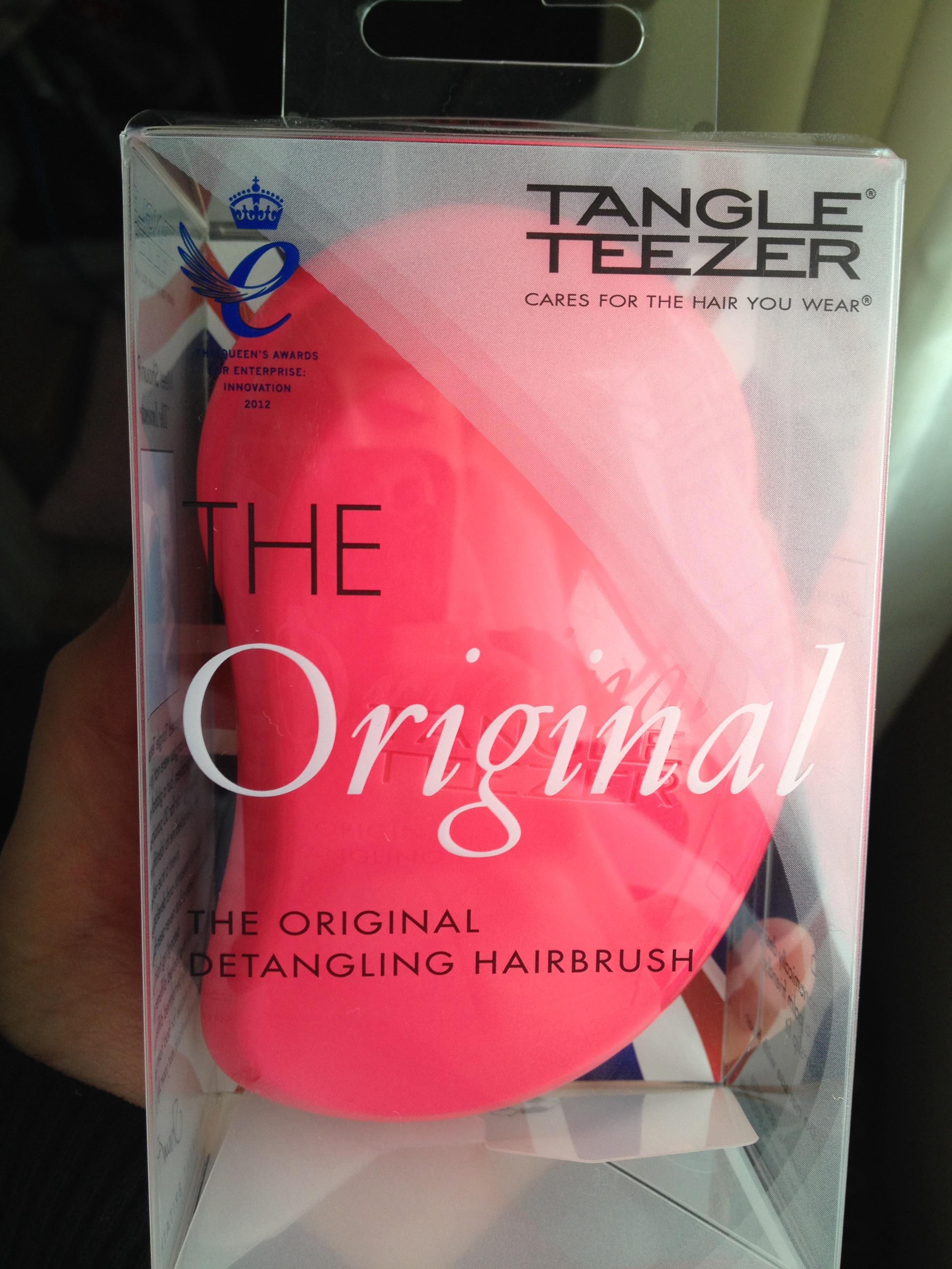 tangle teezer pink