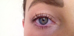 Results after using Bad Gal Lash Mascara