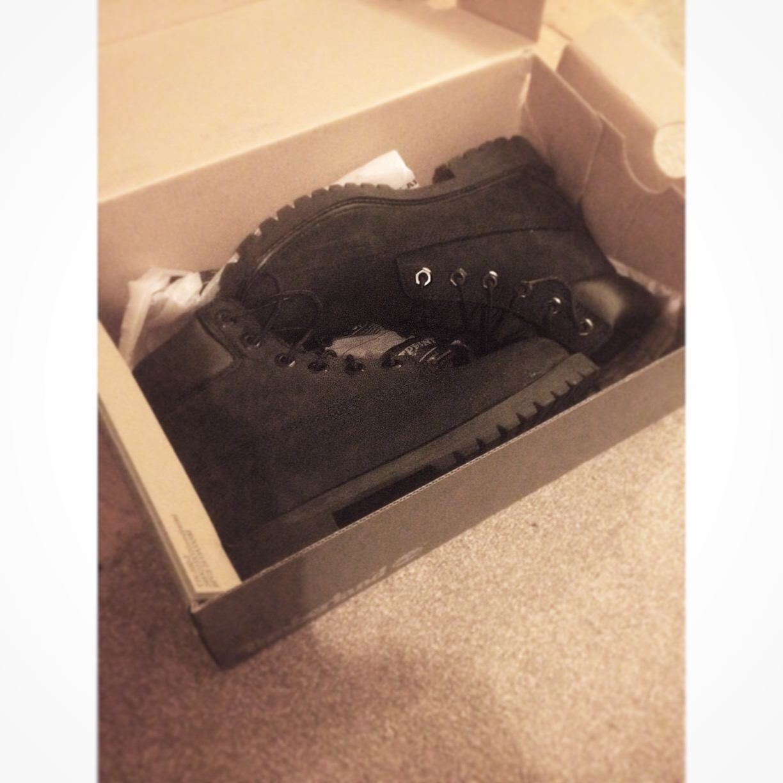 Black Women's Timberland Boots