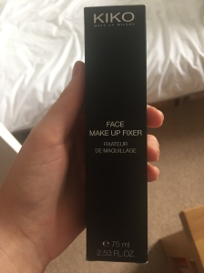 KIKO Milano Make-up fixer spray