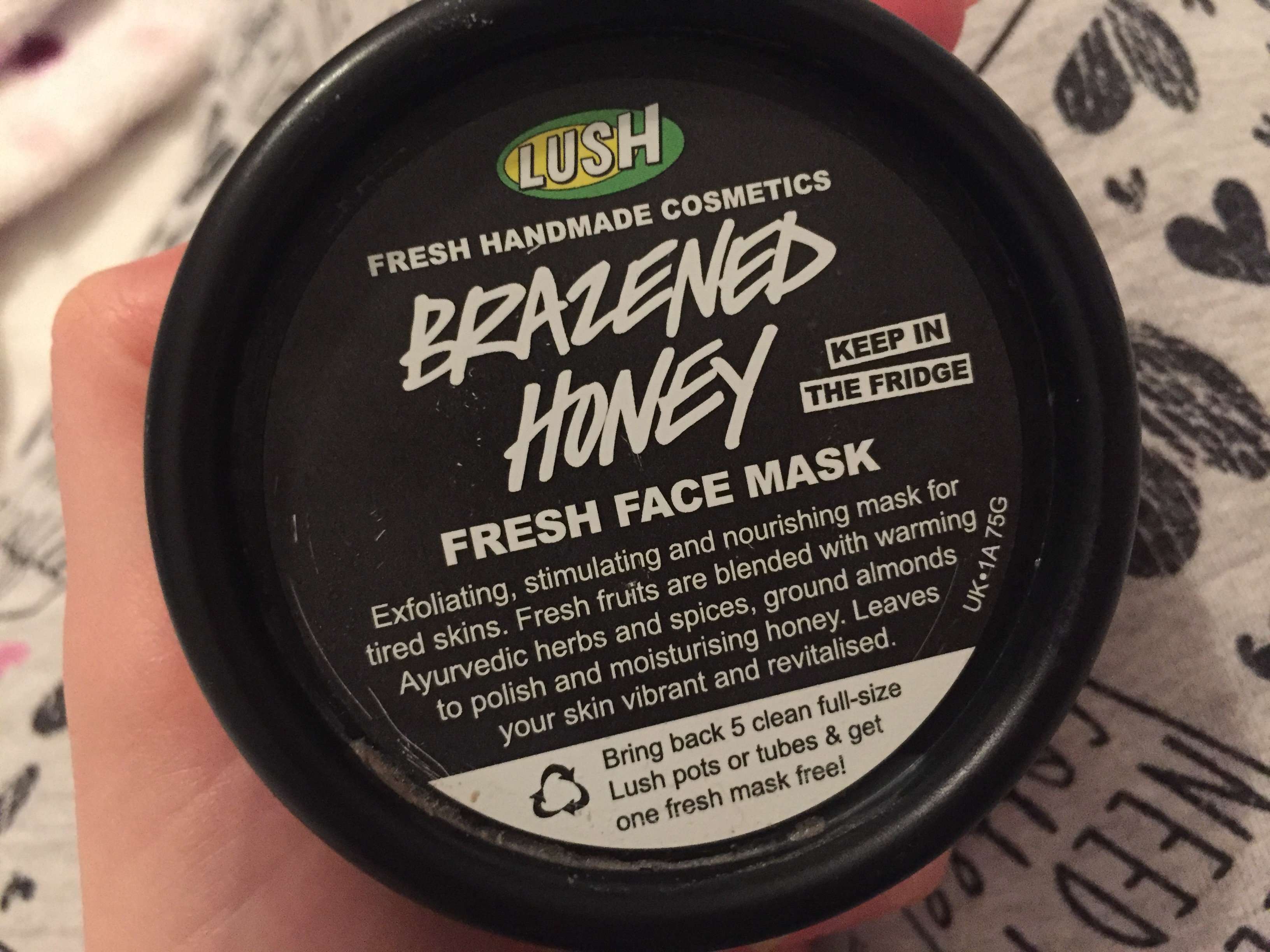 Lush Brazened Honey