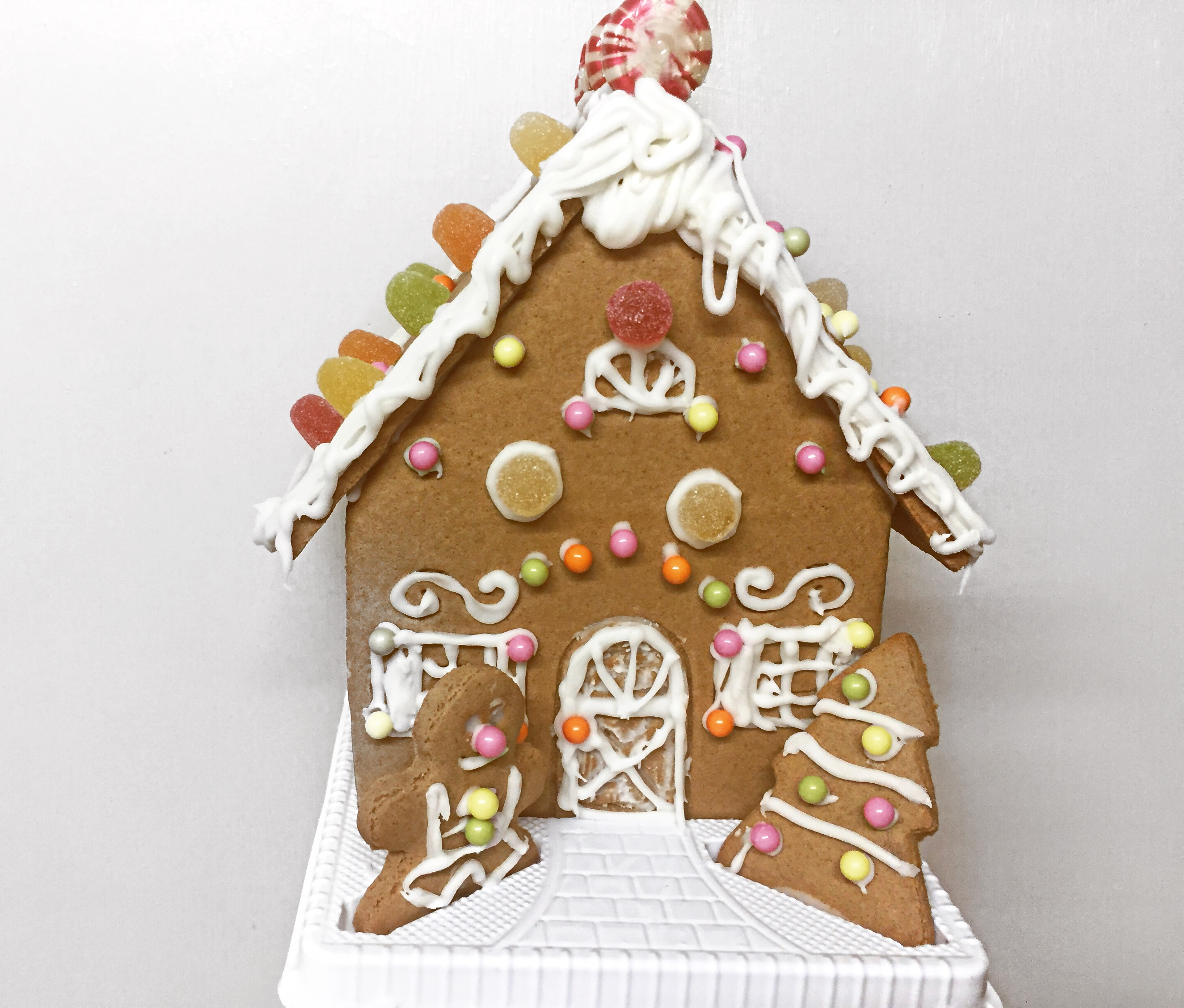 Tesco gingerbread house