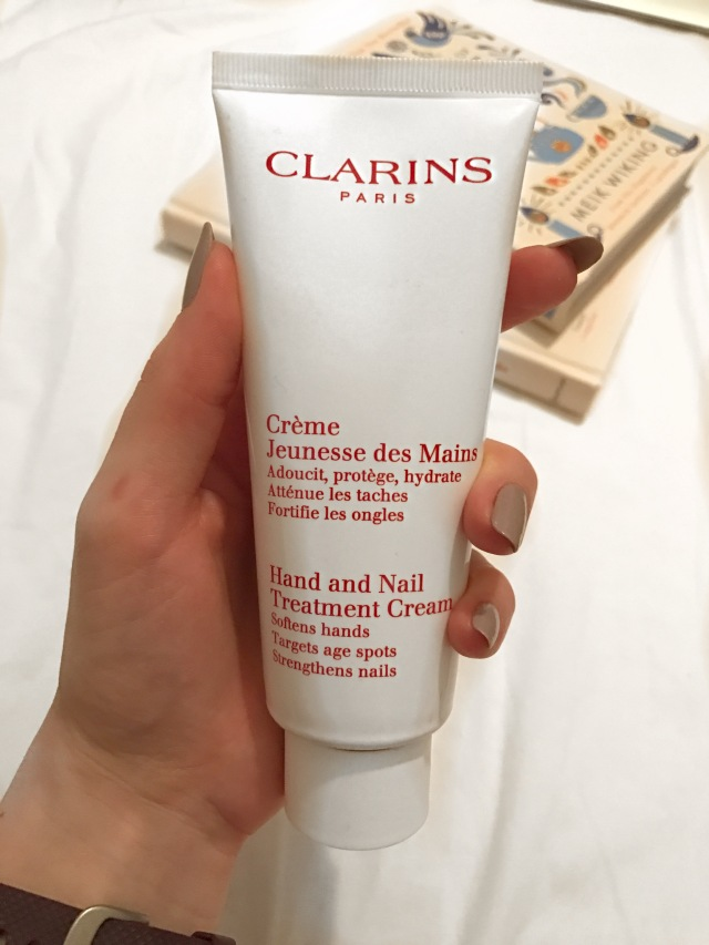 Clarins Hand& Nail Treatment cream