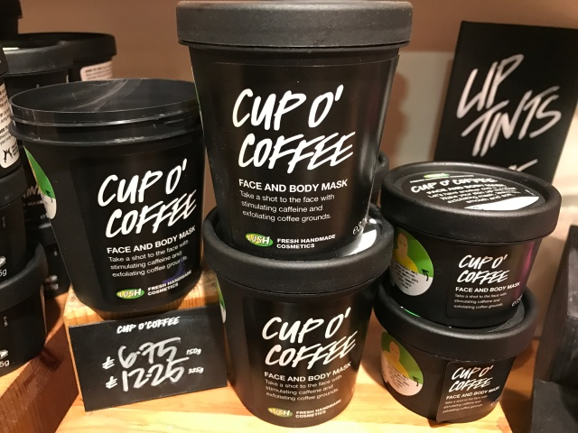 Lush Cup O' Coffee face mask
