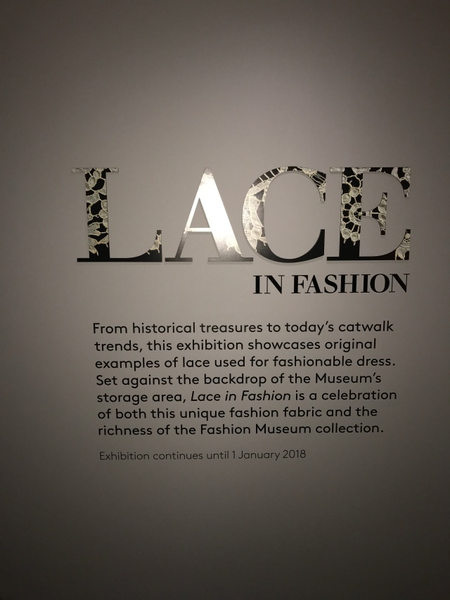 Bath Fashion Museum Lace in Fashion
