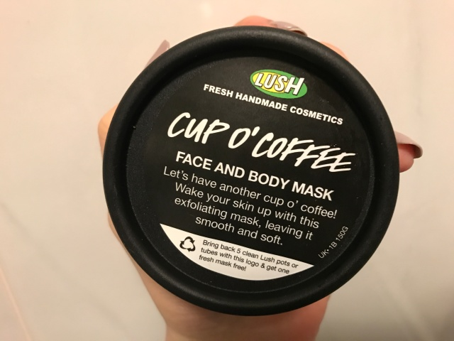 Lush Cup O' Coffee face and body mask
