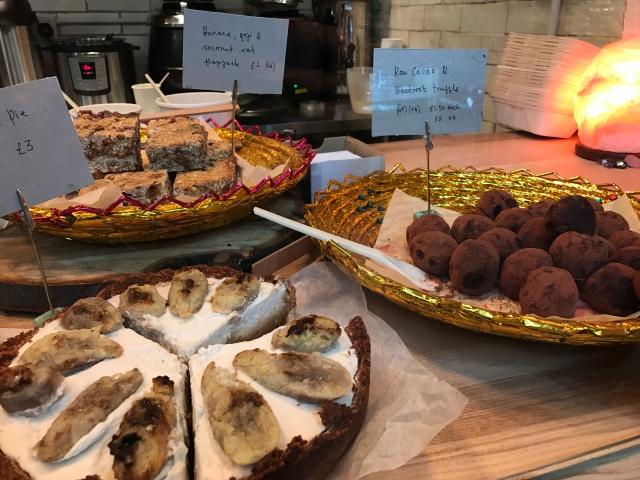 Milgi Cardiff market cakes