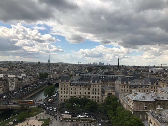 View from Notre Dame Paris