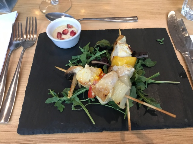 Chicken Skewers at High Street Social Treorchy
