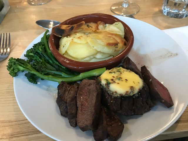 Steak at High Street Social Treorchy
