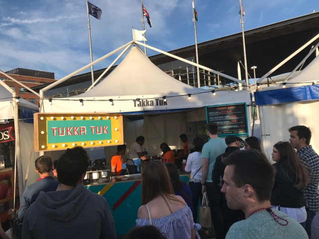 Tukka Tuk at Cardiff International Food and Drink Festival 2017