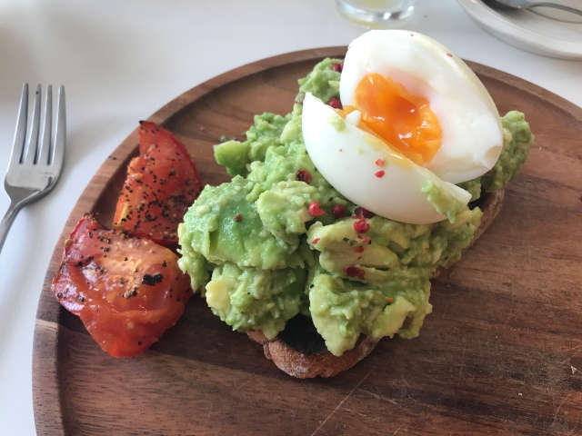 Avocado Toast at Penylan Pantry